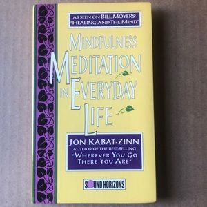 Mindfulness Meditation in Everyday 1994, Cassette)